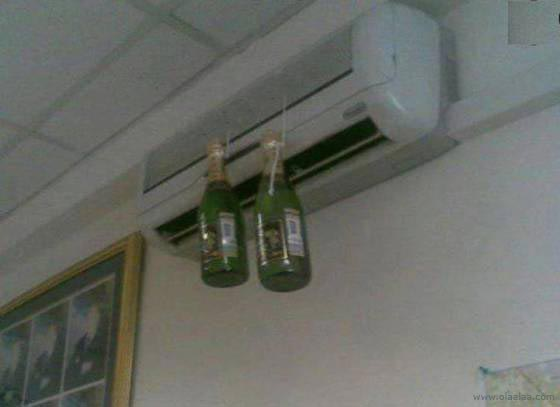 Who said an air conditioner can't have multiple uses?