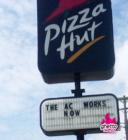 Who cares about the quality of the pizza, as long as the AC works we are all good...